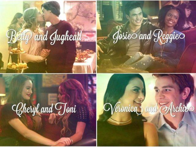 Qual casal de Riverdale mais combina com você e seu amor?