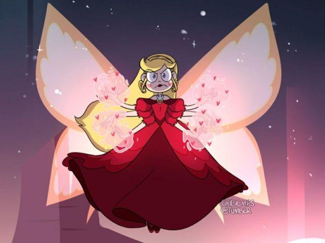 """Qual seria sua forma butterfly em """"Star vs. As Forças do Mal""""?"""