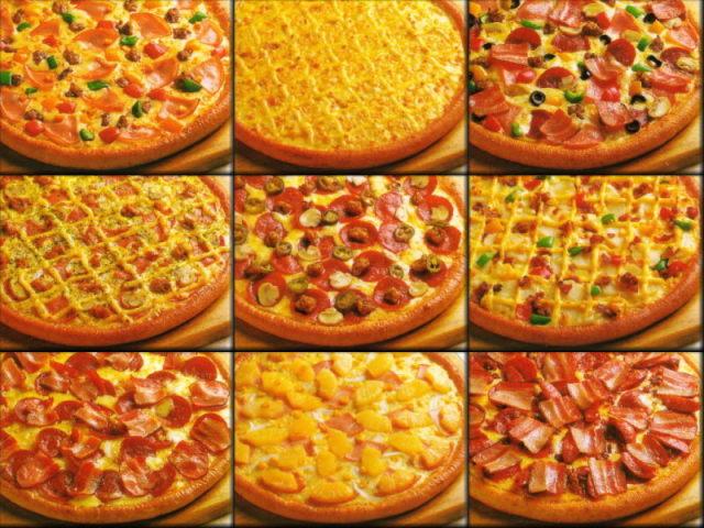 Você conhece os sabores de pizzas?
