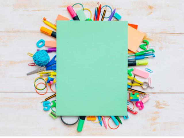 Qual seria o seu material escolar?