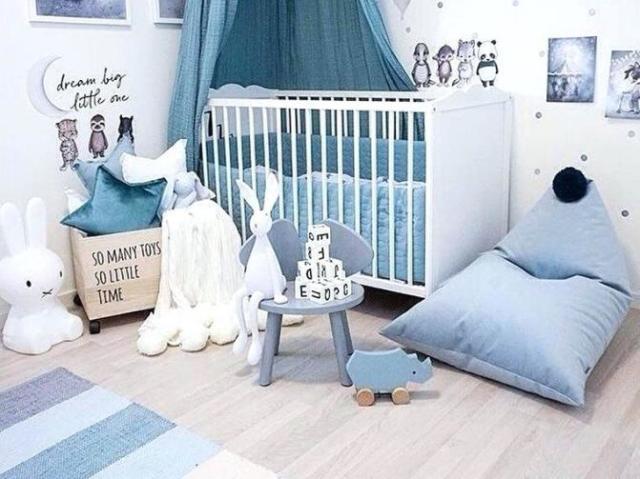 Como será o quarto do seu Baby Boy?