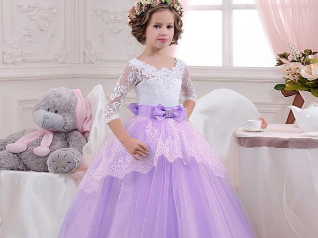 Como será o seu vestido de princesa infantil?