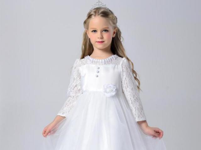 Qual será o seu vestido de baile infantil?
