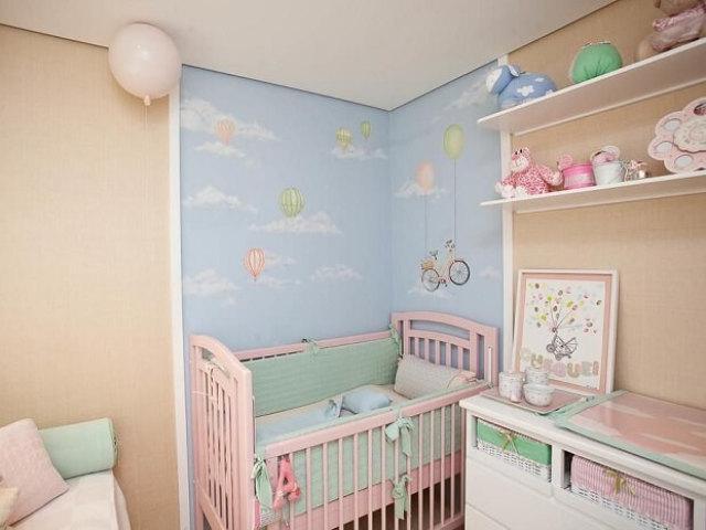 Como será o quarto de sua bebê?