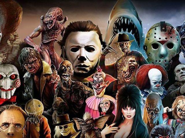 Você sabe quem está por trás dos personagens de filmes de terror?