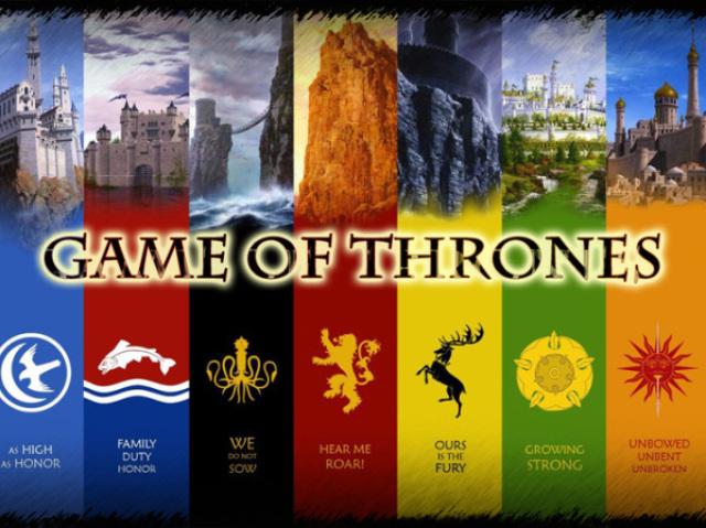 A Qual casa você realmente pertence em GAME OF THRONES?