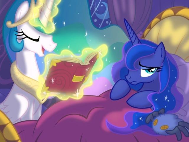 Você conhece as irmãs Celestia e Luna?