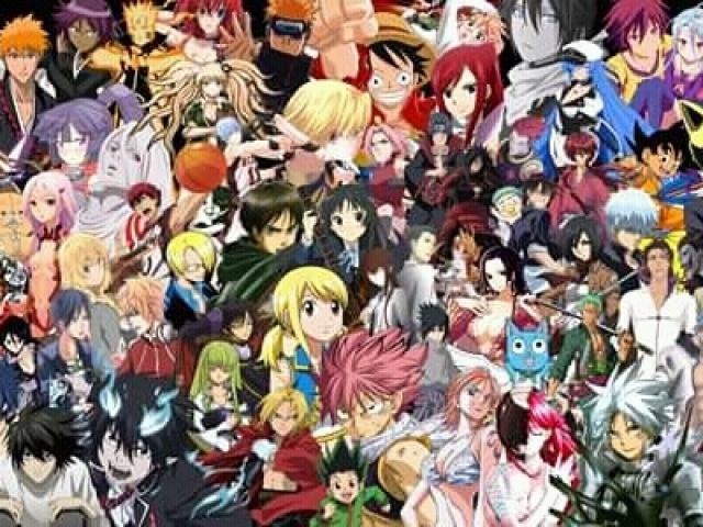 Você realmente conhece muitos personagens de animes?