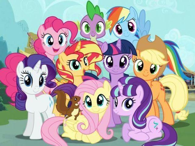 Qual personagem feminina você seria em My Little Pony? (19 resultados!)