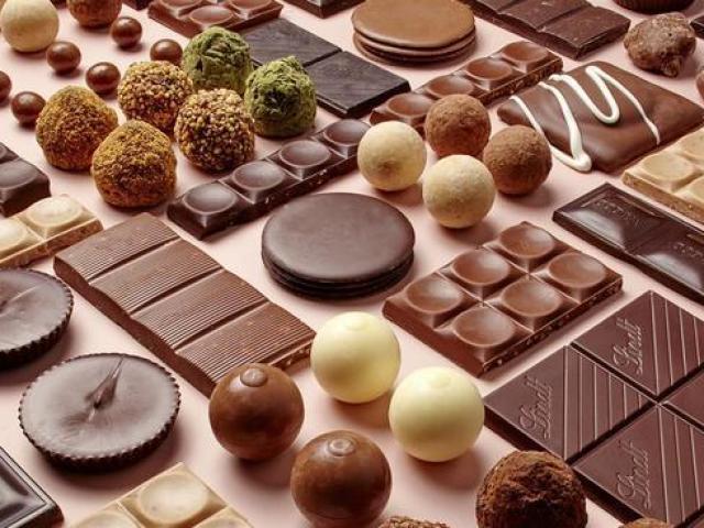 Você sabe qual é o país de origem dessas marcas de chocolate?