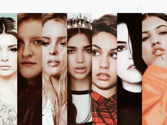 Com qual cantor internacional você mais se parece?