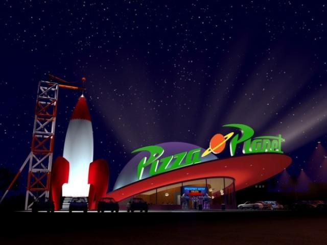 Será que você consegue adivinhar qual é o filme da Pixar pela aparição do carro do Pizza Planet?