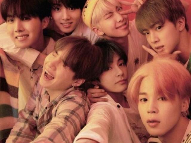 Qual membro do BTS será seu namorado?