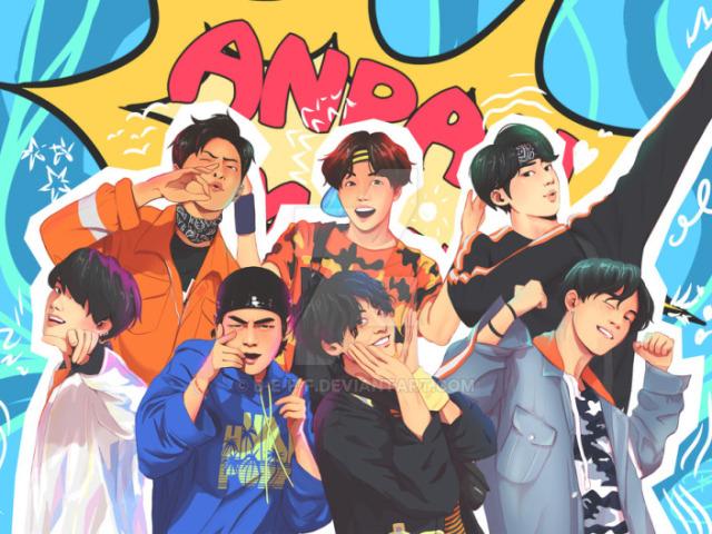 Qual dos garotos do BTS seria seu Anpanman? (RPG)
