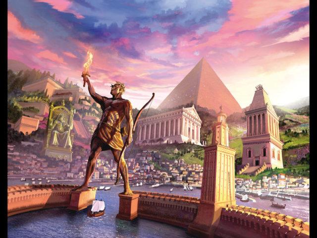Qual das sete maravilhas da antiguidade poderia ter sido construída por você?