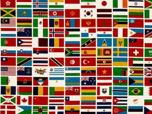 Você sabe o nome dos países pela bandeira?