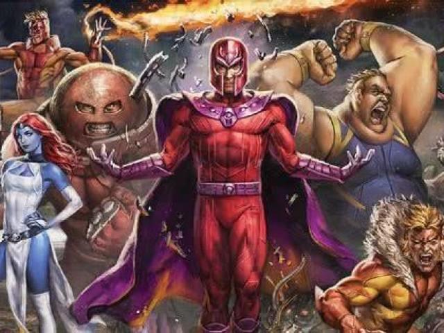 Qual vilão(a) você seria dos X-Men?