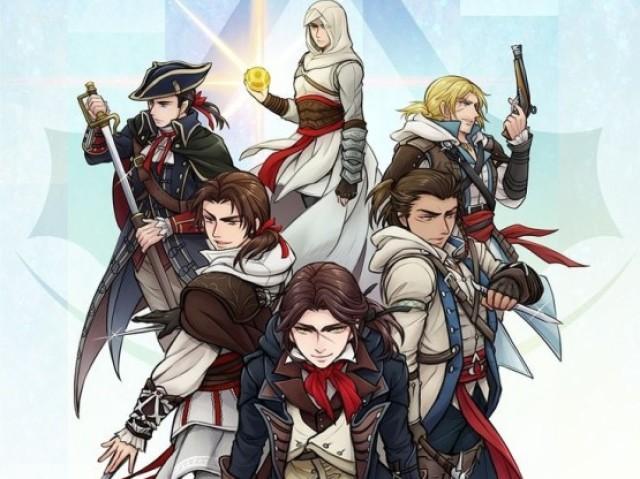 Quem você é em Assassin's Creed na nova geração de console?