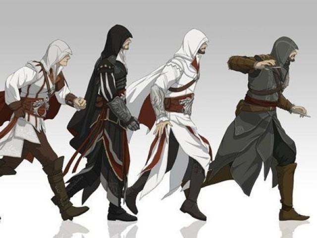 Quem você é em assassins creed da antiga geração de console?