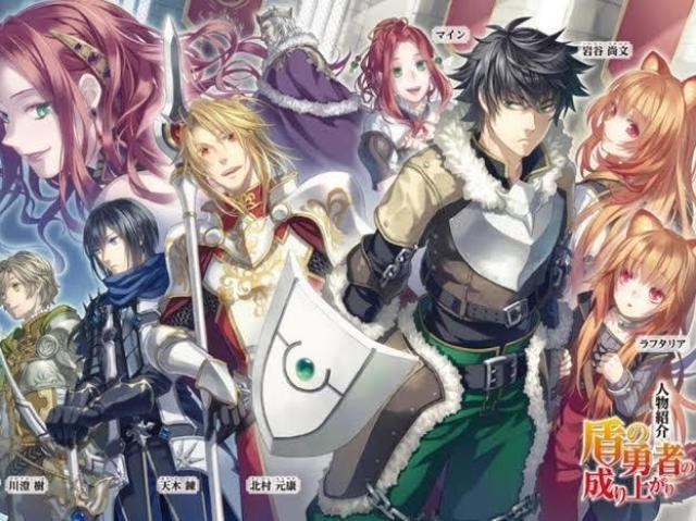 Que personagem você seria no Shield Hero?
