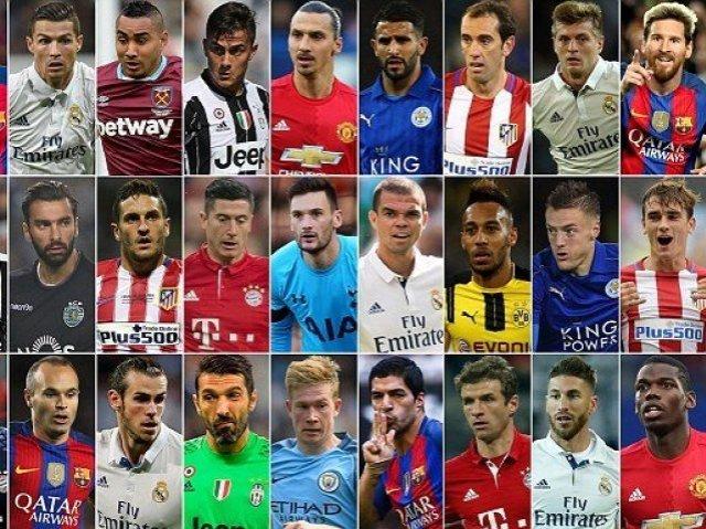 Quem é você no futebol mundial?