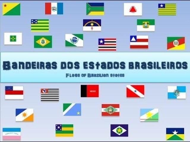 Qual a bandeira das capitais do Brasil?