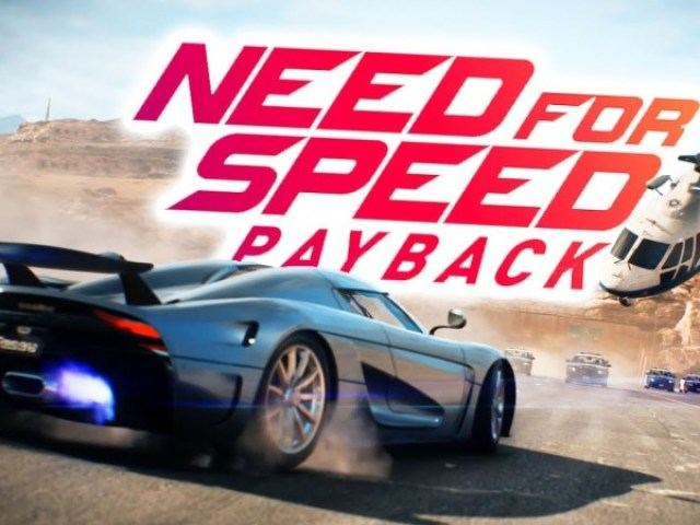Os carros mais rápidos do Need for speed:Payback.