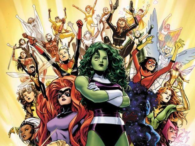 Se você existisse no universo Marvel qual heroína seria sua namorada?