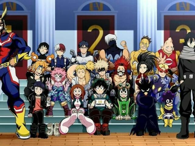 Quem você seria da turma 1-A de Boku No Hero Academia?