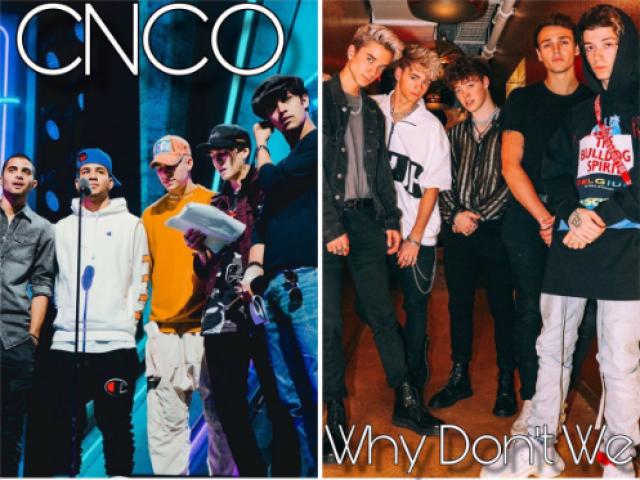 Qual é o boy perfeito para você de CNCO ou Why Don't We?