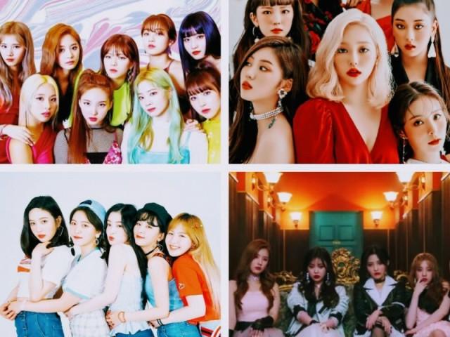 Qual é o grupo pela idol?
