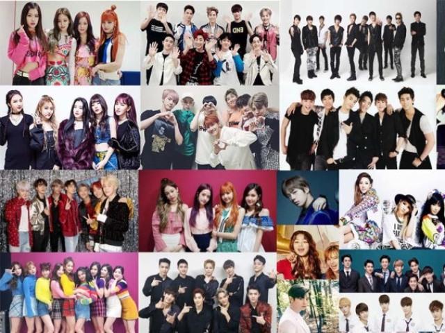 De qual grupo de K-pop você faria parte?
