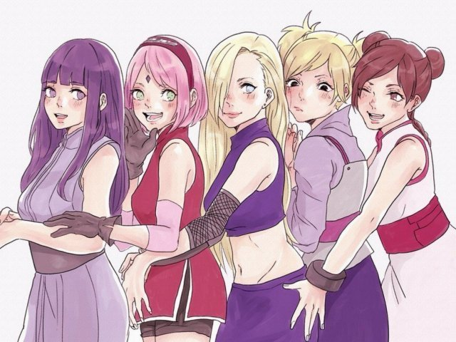 Qual personagem feminina da geração de Naruto você seria?