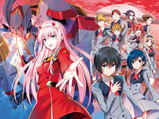 Você conhece o anime Darling in the Franxx?