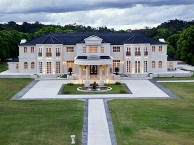 Qual mansão seria a sua?