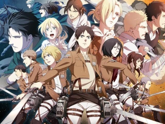 Quem você seria em Shingeki no Kyojin?