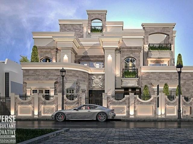 Monte sua mansão sofisticada