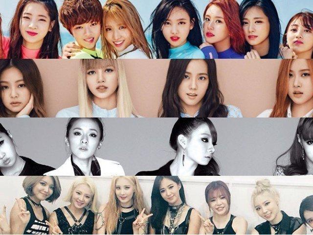 Você conhece os grupos de k-pop?
