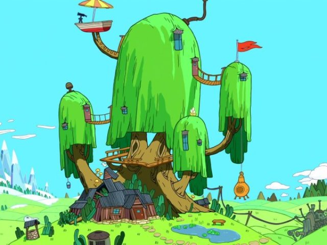 Em que casa dos desenhos animados você viveria?