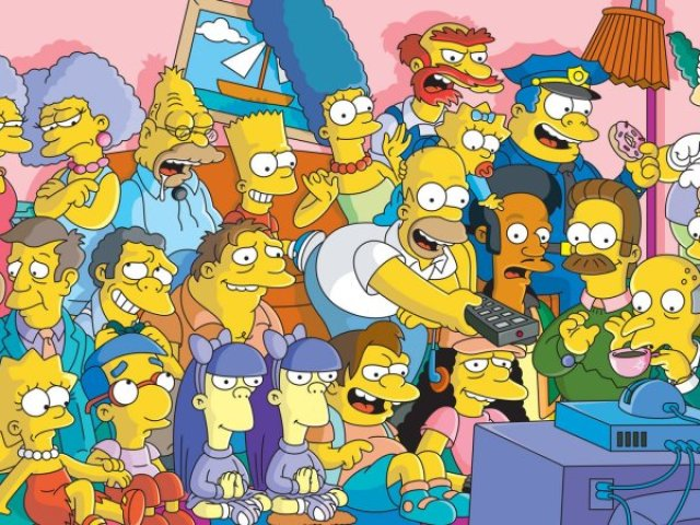 Você e realmente fã de Os Simpsons?