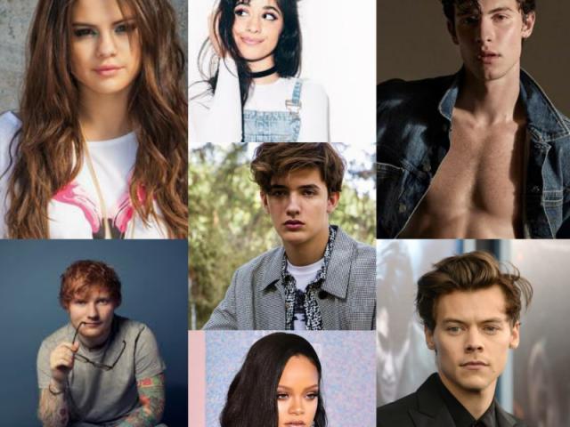 Qual famoso seria o seu namorado?