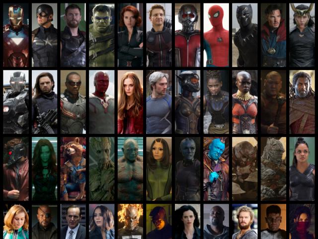 Você conhece mesmo os personagens do U.C.M.?