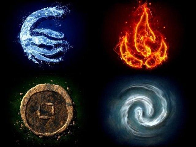 Qual elemento mais combina com você?