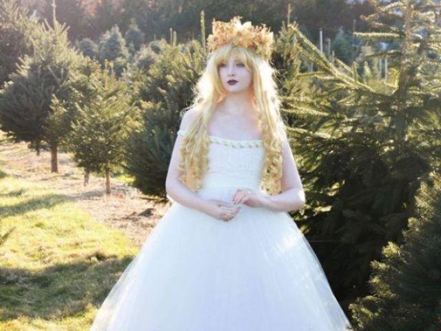 Qual seria o seu vestido de conto de fadas?