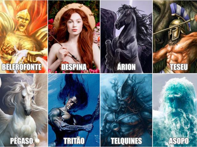 Qual filho de Poseidon seria o seu protetor?