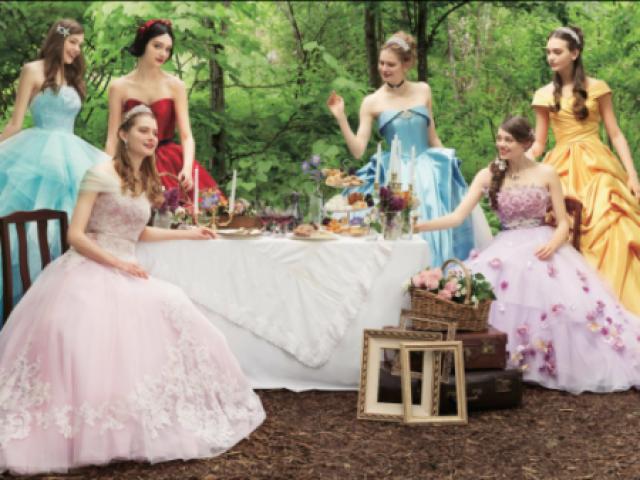 Qual vestido de princesa mais combina com sua personalidade ?