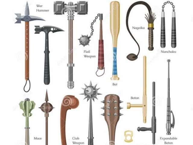 Qual arma medieval mais combina com você?