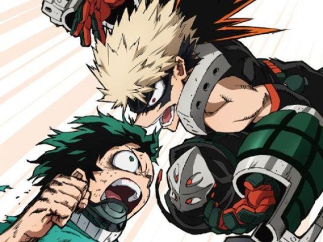 Qual personagem de Boku no Hero você seria?