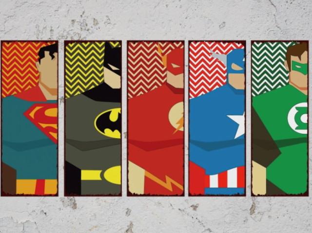 De qual equipe de heróis ou vilões você poderia participar?
