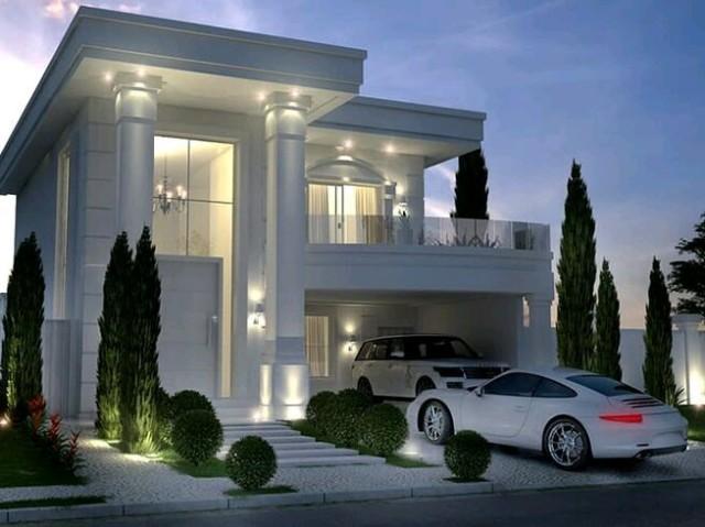 Monte sua mansão moderna!